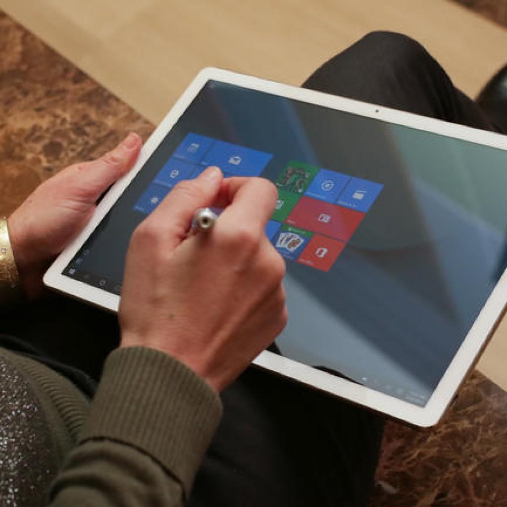 Huawei Matebook как планшет