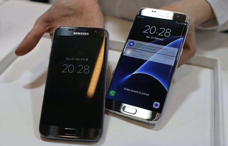 Samsung Galaxy S7 телефоны