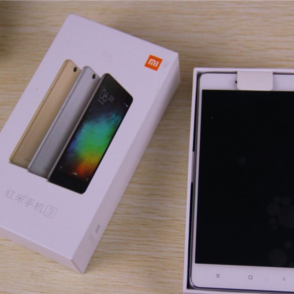 Xiaomi Redmi 3 package