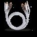 Цены на 2RCA  -  2RCA межблочный кабель OEHLBACH 2600 0.5 м
