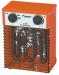 Цены на Электрическая тепловая пушка Forward FFH - 2000 Тепловая мощность (кВт): 2 ;  Производительность (мі / ч): 272 ;  Автоматическая система остановки: есть ;  Вес (кг): 3.6