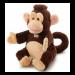 Цены на Trudi Обезьяна 25см  -  мягкая игрушка на руку Забавная обезьянка – не просто мягкая игрушка,   это настоящий театральный актер! Обезьянку можно надеть на руку и устроить кукольное представление! С помощью такой игрушки родители могут веселить малышей,   показы