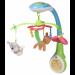 Цены на Мобиль Chicco Бэмби 0 м +  Яркая карусель Chicco с персонажами сказки «Бэмби» кружится под нежную мелодию,   развивая у новорожденного слуховое и зрительное восприятие. • Три мягких подвесных игрушки — олененок,   зайчик,   бабочка. • 7 нежных мелодий. • Время пр