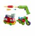 Цены на Keenway Пластмассовый конструктор серии «Build & Play» мотоцикл и пожарная машина разборные с инструментом Keenway – модели транспорта которые можно разо...