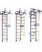 Цены на Альпинистик Альпинистик ДСК 4 представляет собой металлическую шведскую стенку с разнообразнымнавесным оборудованием,   которое устанавливается на любую высоту в зависимости от роста ребенка: кольца канат трапеция веревочная лестница турник с широким хватом