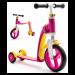 Цены на Scoot&Ride Highway Baby Plus  -  трехколесный самокат - беговел (трансформер) (желто - розовый)