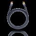 Цены на Кабель OEHLBACH 2231 M - W (1.0 м./ черный) Гибкий цифровой антенный кабель с двойным экранированием,   экран >90 дБ,   (соответствует предписанию по качеству экранирования). Диаметр 7,  0 мм.