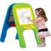 Цены на Edu - Play Доска для рисования магнитная Edu - Play GP - 8014 Детский двухсторонний мольберт предназначен для обучения и рисования вашего ребенка. Прост в сборке: состоит из двух боковых панелей,   зеленой и голубой,   на обеих панелях расположены держатели для бум