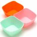 """Цены на Mayer&Boch Форма для выпечки силиконовая Mayer&Boch 21965 Набор форм """" Кексы""""  силиконовый (6 шт) Материал: силикон Цвет: розовый,   голубой,   желтый Размер: 7х7х3 см Объем: 80 мл Вес: 57 г Набор """" Кексы""""  состоит из 6 форм,   выполненных из си"""