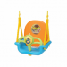 Цены на Edu - Play Качели Edu - Play Мелодия Hutos SW - 1428 Edu - play Мелодия,   арт. SW - 1428 – яркие подвесные качели для детей от 6 месяцев. Благодаря высокой спинке и защитной передней панели качели могут использоваться для самых маленьких. По мере роста ребенка спинк