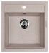 Цены на LAVA Кухонная мойка LAVA Q.1 (DUNE светлый беж) Характеристики: Типмойка База под тумбу45 см Длина46,  5 см Глубина чаши20 см СерияQ.1 Формапрямоугольная Число чаш1 основная Цветсветлый беж Расположение крыланет Материалгранит Страна производстаРоссия