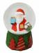 """Цены на Новогодняя сказка Шар декоративный Новогодняя сказка Дед Мороз 972493 Диаметр шара: 8 см. Снежный шар """" Дед Мороз""""   -  это популярный новогодний сувенирный подарок,   который принято дарить как детям,   так и взрослым. Снежным шар называется потому,   чт"""