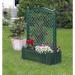 Цены на KHW Большой ящик для растений KHW с центральной шпалерой 100см зеленый 37103 Садовое декоративное ограждение с клумбой Материал  -  Полипропилен (ПП) Размер 100х43х140 см. Объем клумбы 110 л. Вес нетто 7.63 кг. Вес брутто 10.22 кг. Габариты упаковки: 120х10