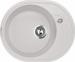 """Цены на LAVA Кухонная мойка LAVA E.1 (LATTE белый) Гранитная мойка Lava E1  -  стильная,   элегантная модель """" мягкой""""  закругленной формы с небольшим художественно оформленным крылом. На краю мойки имеется невысокий бортик,   предотвращающий попадание воды на"""