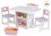 Цены на KidKraft Набор мебели KidKraft Heart (стол + 2 стула + 4 ящика) 26913_KE В этом наборе детской мебели есть не только удобный стол и стулья,   но и много места для хранения любимых игрушек детей. Все куклы и другие вещи можно сложить во вместительные ящики,   кото
