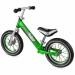 """Цены на Small Rider Беговел Small Rider Foot Racer Air Легкий алюминиевый зеленый 1542842 Новые беговелы """" Фут Рэйсер""""  стали еще красивее и лучше. Как всегда алюминиевая рама дает невероятную легкость,   анодизированная покраска в стиле """" металлик&quot"""
