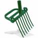 Цены на УРОЖАЙ Рыхлитель УРОЖАЙ Картофелекопалка садово - огородная С помощью картофелекопалки вы можете выкопать урожай картофеля,   свёклы,   моркови,   взрыхлить почву,   вскопать грядки. Это устройство представляет собой вилы с частыми зубьями,   которые соединены с педа