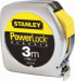 """Цены на Stanley Рулетка измерительная """"Powerlock"""" Stanley 0 - 33 - 218 Рулетка измерительная """"Powerlock"""" метал. корпус 3м х 12,  7мм Stanley 0 - 33 - 218 Высокопрочный металлический литой хромированный корпус Надежный фиксатор ленты Автоматическое сматывание ленты При выпо"""