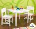 Цены на KidKraft Набор мебели KidKraft Aspen стол + 2 стула белый 21201_KE Набор мебели белого цвета подойдет для любого интерьера детской комнаты. Он поможет организовать рабочее пространство для ребенка,   где ему будет удобно заниматься творчеством и учиться. Особ