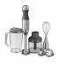 Цены на KitchenAid Блендер погружной KitchenAid 5KHB2571SX Серый металлик Гарантийный срок,   лет: 2 Цвет: Серый металлик Материал: Металл,   мягкий пластик Мощность: 180Вт Напряжение: 220 - 240 В Частота: 50 - 60 Гц Количество скоростей: 5 Оборотов/ мин.: от 610 до 11000
