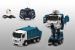 """Цены на 1toy Робот на р/ у,   трансформируется в мусоровоз 1toy 38см Т10601 Робот - трансформер """" Мусоровоз""""  превращается в полноценную машину. Им можно управлять с помощью дистанционного пульта,   который работает на батарейках. Превратить робота в машинку и о"""