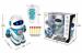 Цены на Shantou Gepai Робот Shantou Gepai на радиоуправлении SPA991190M - W Робот  -  это очень послушная игрушка,   которая выполняет все заданные хозяином команды. Управление игрушкой происходит при помощи пульта. Робот умеет петь,   воспроизводить звуки,   двигаться пря