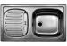 Цены на Blanco Кухонная мойка Blanco Flex Mini (512032) комплект поставки (200874 + 213567) Эргономичная и удобная мойка Flex Mini позволяет функционально организовать рабочую зону. В зависимости от особенностей помещения и личных предпочтений при установке крыло м