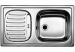 Цены на Blanco Кухонная мойка Blanco Flex Mini (511918) Эргономичная и удобная мойка Flex Mini позволяет функционально организовать рабочую зону. В зависимости от особенностей помещения и личных предпочтений при установке крыло можно разместить слева или справа.