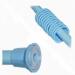 Цены на VIOLET Карниз для ванной комнаты VIOLET 2110/ 3 голубой Карниз Violet 2110/ 3 с 12 пластиковыми кольцами в наборе. Стальная труба с пластиковой фурнитурой. Силиконовые вставки в фурнитуру предотвращают скольжение. Цвет: голубой. Длина: 210 см.