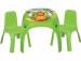 Цены на Pilsan Набор мебели Pilsan King 03 - 422 - T Набор из стола и двух стульев Pilsan King 03 - 422 предназначен для детских ролевых игр,   обучения,   приёма пищи. Рекомендуется для детей от 3 до 10 лет. В комплект входят литой пластиковый столик с красочной наклейкой