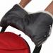 Цены на BamBola Муфта для коляски BamBola шерстяной мех + плащевка + кнопки(лайт) Серая 153В Муфта на ручку коляски очень легко одевается и защищает ваши руки от холода. Ткань муфты водоотталкивающая,   она утеплена мехом и небольшим слоем синтепона.