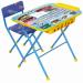 Цены на Ника Набор мебели Ника БОЛЬШИЕ ГОНКИ стол + мягкий стул КУ2П/ 15 Комплект складной. Подходит для кормления,   игр и обучения. Поверхность столешницы ламинированная с нанесением ярких познавательных рисунков. На поверхности стола можно рисовать маркером на водн