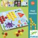 """Цены на DJECO Мозайка DJECO Макси 08141 Детская мозаика """" Макси""""  от компании Djeco включает в себя деревянную основу,   8 красочных полей с различными картинками и множество разноцветных гвоздиков,   которые нужно поставить в отведенные им ячейки. Картинки,"""