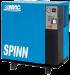 Цены на ABAC Винтовой компрессор ABAC SPINN 5.5 - 8ST Винтовой компрессор SPINN 5.5 предназначен для снабжения сжатым воздухом небольших мастерских и производств. Основная отличающая особенность компрессора Spinn  -  это интуитивно понятный интерфейс и простота обслу