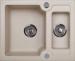 Цены на KUPPERSBERG KUPPERSBERG MODENA 1,  5B SAND тип мойка для кухни установка врезная материал kuppersberg rock(гранит) цвет бежевый форма прямоугольная количество чаш 1 основная + дополнительная крыло нет особенность оборачиваемая сливное отверстие 3 1/ 2 дюйма ,