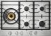 Цены на ASKO ASKO HG 1776 SB газовая варочная панель 5 газовых конфорок переключатели поворотные электроподжиг независимая установка габариты (ШхГ) 75x52.6 см