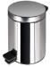 Цены на GEESA Standard Hotel 625 - С ведро,   3 литра,   напольное Ведро округлой формы объёмом в три литра. Стильный дизайн и применение хрома в оформлении. Диаметр: 17 см Высота: 25 см Цвет: Хром