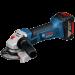 Цены на Аккумуляторная углошлифмашина 18 В Bosch GWS 18 V - LI ( 060193A30A ) Аккумуляторная угловая шлифмашина Bosch GWS 18 V - LI 0.601.93A.30A предназначена для шлифовки поверхностей,   а также отрезания деталей небольшого диаметра. Данная модель отличается максимал