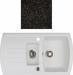 Цены на Kuppersberg Кухонная мойка Kuppersberg ALBA 1,  5B1D BLACK Внешние размеры 860 x 500 x 210 Размеры чаши 420 x 378 х 210 Размер доп.чаши 268 x 200 х 130 База встраивания от 60 см Сливное отверстие на 3 ,   круглый перелив в чаше Оборачиваемость Оборачиваемая,