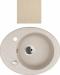 Цены на Kuppersberg Кухонная мойка Kuppersberg CAPRI 1B1D S ECRU Внешние размеры 580 x 470 x 210 Размеры чаши 372 мм База встраивания 45 см Сливное отверстие на 3 ,   круглый перелив в чаше Оборачиваемость: Оборачиваемая,   с двумя предварительно просверленными техно