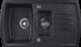 Цены на Kuppersberg Кухонная мойка Kuppersberg ALBA 1,  5B1D BLACK METALIC