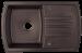Цены на Kuppersberg Кухонная мойка Kuppersberg ALBA 1B1D CHOCOLATE Внешние размеры 780 x 500 x 210 Размеры чаши 420 x 378 х 210 База встраивания от 50 см Сливное отверстие на 3 ,   круглый перелив в чаше Оборачиваемая,   с двумя предварительно просверленными технолог