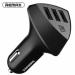 Цены на Remax Aliens RCC304 4.2A Black Автомобильное зарядное устройство Материал корпуса: глянцевый пластик 3 USB порта Входящее напряжение: 12 - 24 В Исходящее напряжение (максимальное,   при использовании одного USB порта): 5 В,   2.4А АЗУ Remax Aliens RCC304 4.2A b