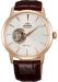 Цены на Orient Мужские японские наручные часы Orient DB08001W [FDB08001W0] DB08001W У мужских часов Orient DB08001W [FDB08001W0] корпус изготовлен из высококачественной нержавеющей стали,   ремешок изготовлен из 100% натуральной кожи,   на часах установлен балансовый