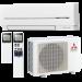 Цены на Mitsubishi Electric MSZ - SF50VE /  MUZ - SF50VE Отличительные особенности: Низкий уровень шума — 21 дБ(А) (модели MSZ - SF25/ 35VE) и высокая энергоэффективность. Современный эргономичный дизайн внутреннего блока. Новый беспроводный пульт со встроенным недельным