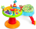 """Цены на Bright Starts Игровой развивающий центр Bright Starts """"Зоопарк 360"""" (60368) Игровой центр растёт вместе с ребенком! Особенности: Сиденье поворачивается на 360,   позволяя ребенку ходить вокруг столика и играть. Сиденье легко убирается,   и тогда можно использ"""