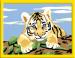 """Цены на Ravensburger Набор для творчества Ravensburger """"Тигренок. Раскраски по номерам"""",   18 х 13 см (27898) Набор для детского творчества для детей в возрасте от 7 лет. Создать картинку просто  -  каждый участок картины обозначен номером цвета краски,   которым надо"""