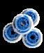 Цены на Комплект колес для роликов SW - 601,   PU,   синий so - 000273555