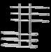 Цены на Terminus Полотенцесушитель Terminus Диана 32/ 20 П6 3 - 3 (200*830) «Диана» – это практичный и стильный полотенцесушитель,   цена на который соответствует качеству. Разноуровневые перекладины,   расположенные друг над другом,   позволяют сушить большие объемы одеж