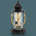 Цены на Eglo Настольная лампа BRADFORD 49283 Настольная лампа BRADFORD 49283/ прозрачная/ прозрачный/ 220/ лофт/ 1/ гостиную/ спальню